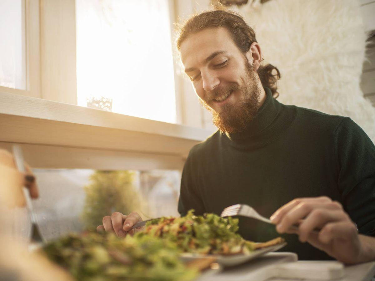 """Foto: Su rutina anterior le hacía """"relativamente feliz"""", pero sus hábitos alimenticios eran """"obviamente pobres"""" (iStock)"""