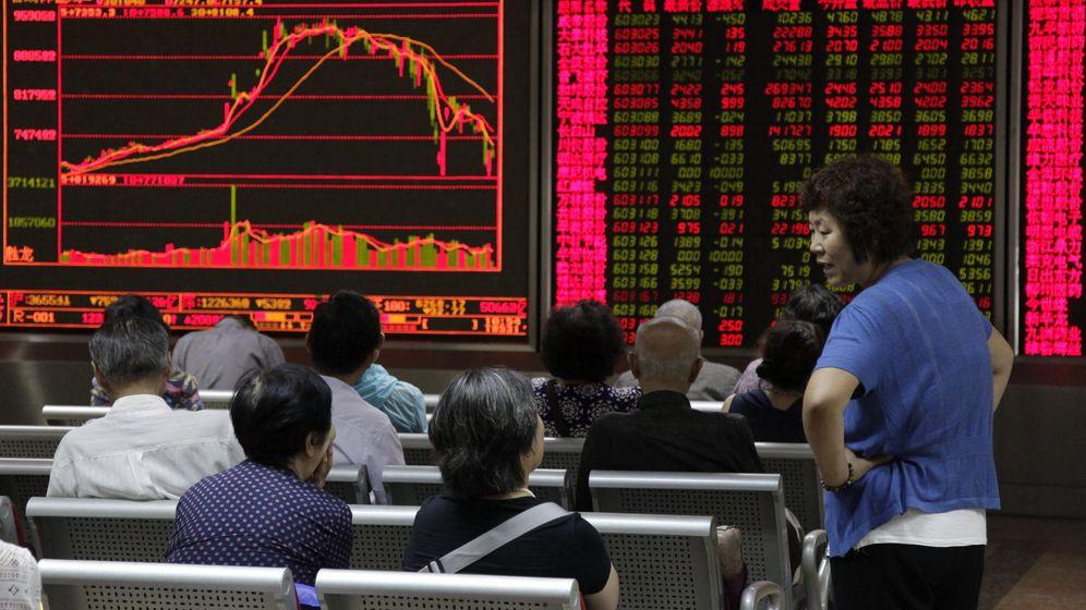 Foto: Bolsa de Shanghai. (EFE)