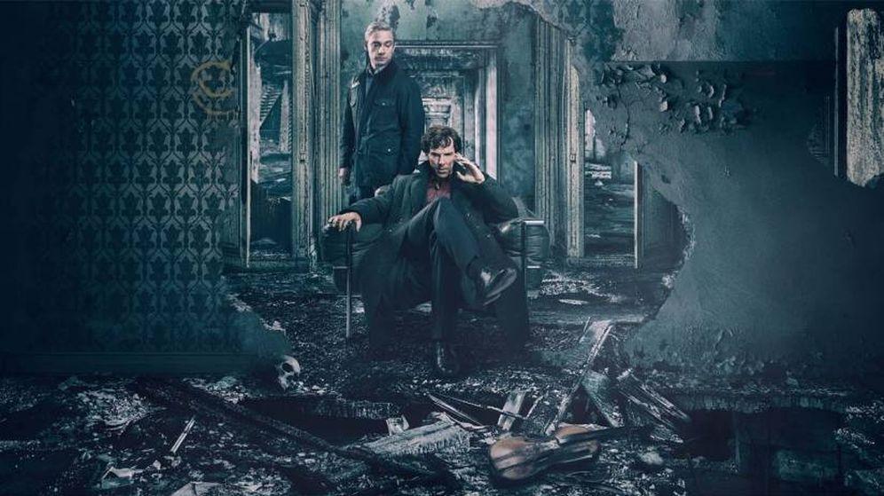 Foto: Imagen promocional de 'El problema final' de 'Sherlock'.