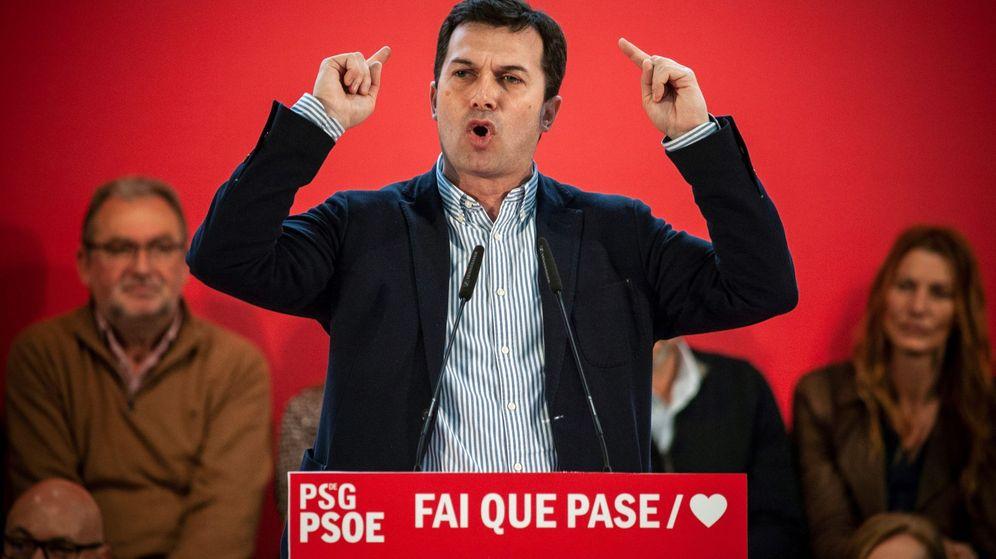Foto: El secretario general del PSdeG, Gonzalo Caballero. (EFE)