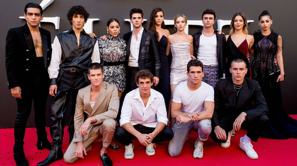 Foto: Actores de 'Élite', tan guapos como en la serie. (Netflix)