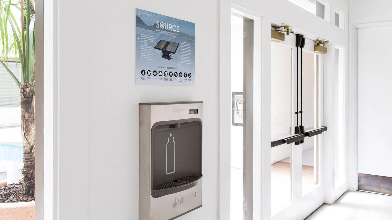 Dispensador de 'agua cruda' de Zero Mass Water