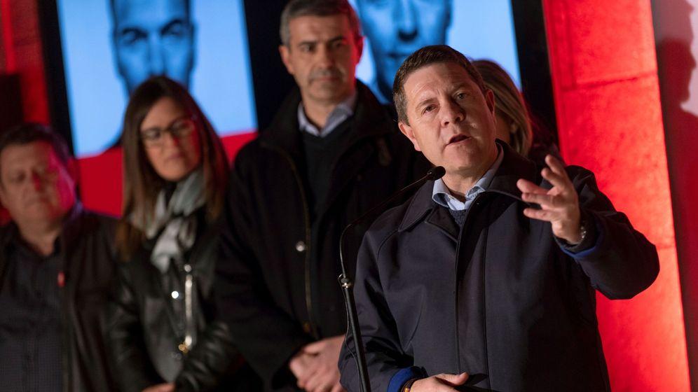 Foto: El secretario regional del PSOE y presidente de Castilla-La Mancha, Emiliano García-Page. (EFE)