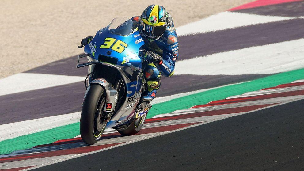 Joan Mir evita el festín italiano de Morbidelli, Bagnaia y Rossi en Misano