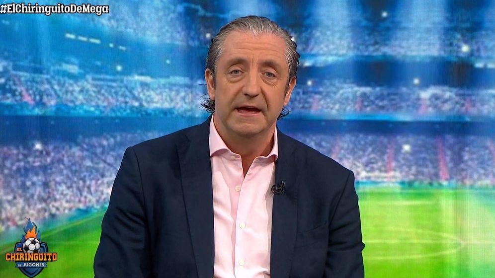 Foto: Josep Pedrerol en 'El chiringuito de Jugones'. (Atresmedia Televisión)
