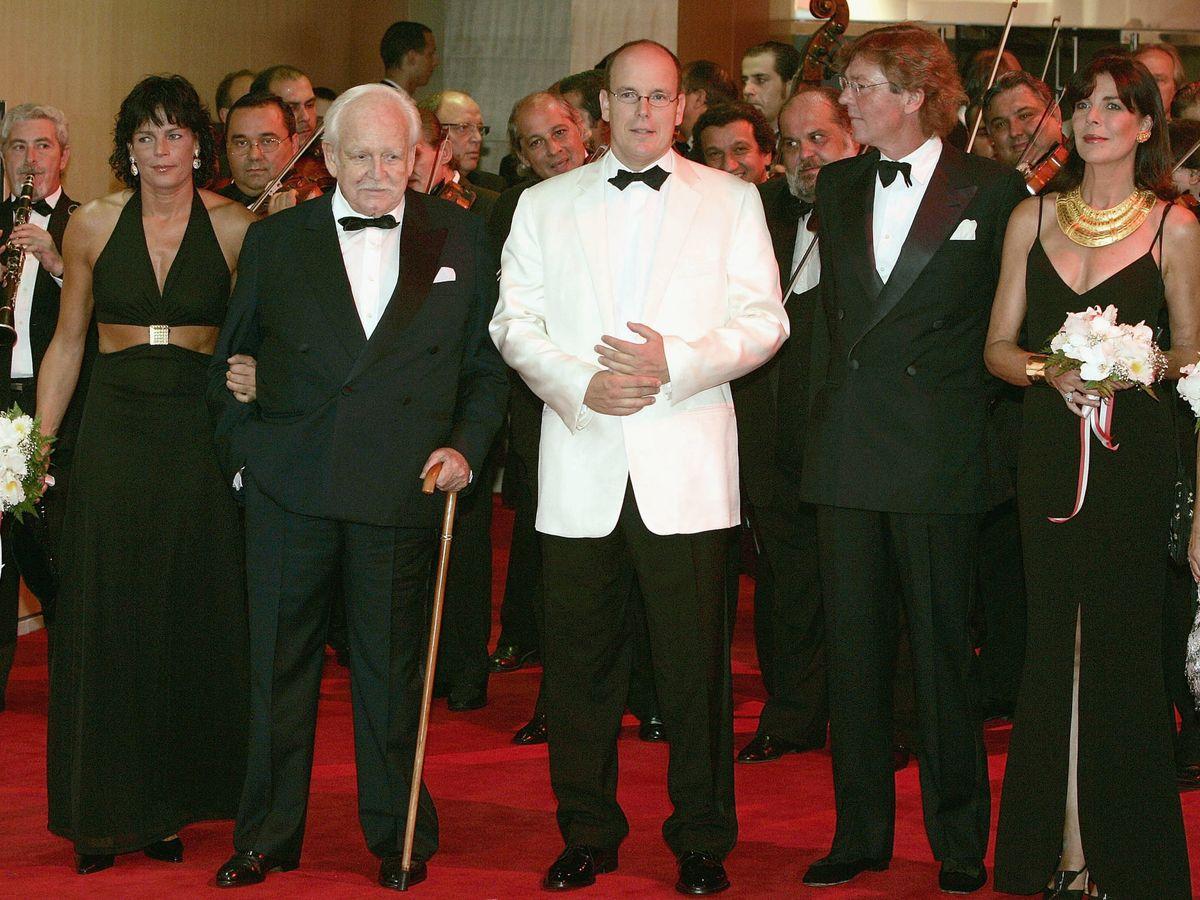 Foto: El príncipe Rainiero, en 2004. (Getty)