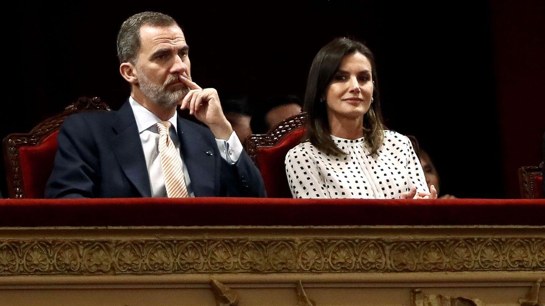 Los Reyes, en una imagen reciente. (EFE)