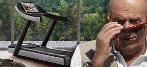 Patrimonio le compra al Rey una 'exclusiva' cinta mecánica por 14.000 euros