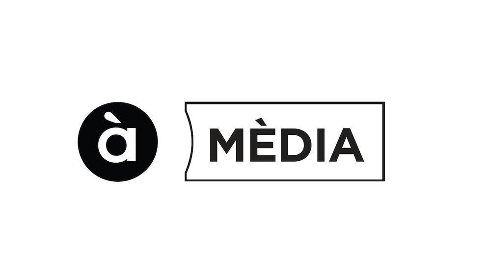 Foto: El logotipo de À Punt, la nueva corporación de medios valenciana, diseñado por la agencia de Risto Mejide.