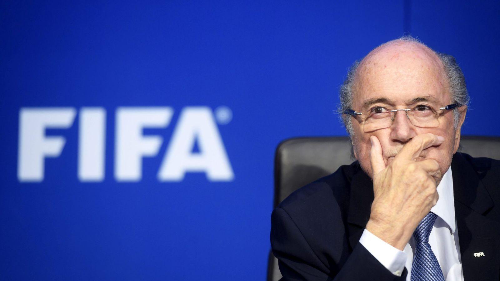 Foto: Blatter presidió la FIFA entre 1998 y 2015 (Ennio Leanza/EFE)