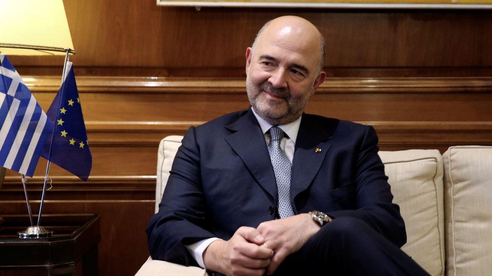 Foto: El comisario eurpeo de Asuntos Económicos, Pierre Moscovicci. (Reuters)