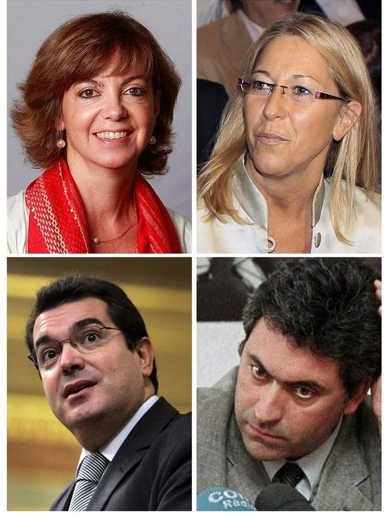 Foto: Cambios en el Gobierno catalán: Neus Munté, Borrás, Jané y Ciuraneta