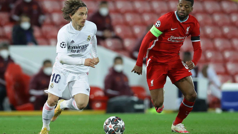 Un Real Madrid titánico en defensa elimina al Liverpool y pasa a las semifinales (0-0)
