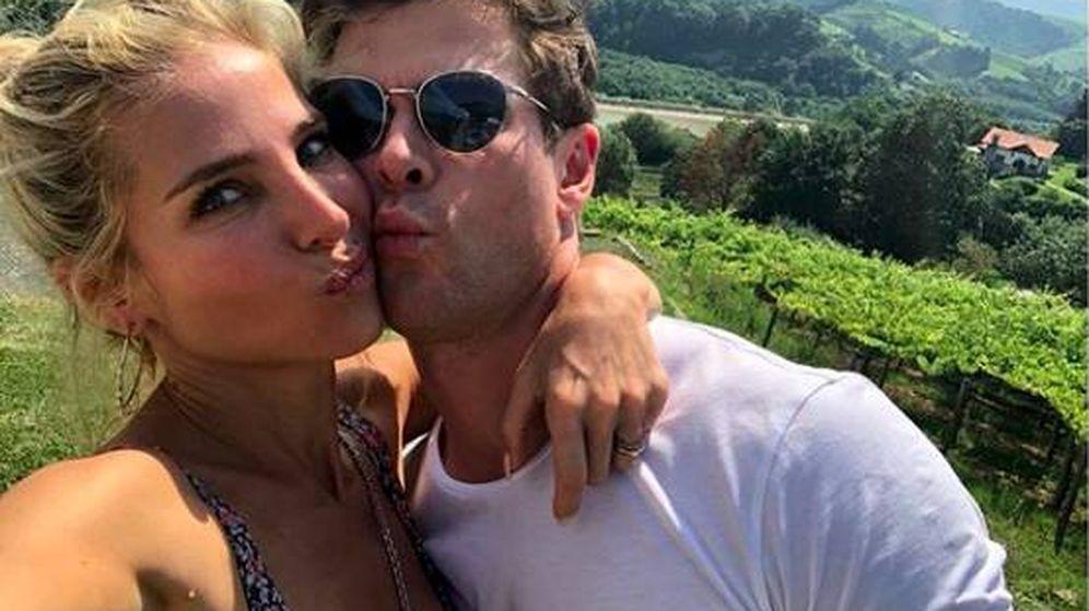 Foto: La pareja en San Sebastian en una foto de sus redes sociales. (Instagram)