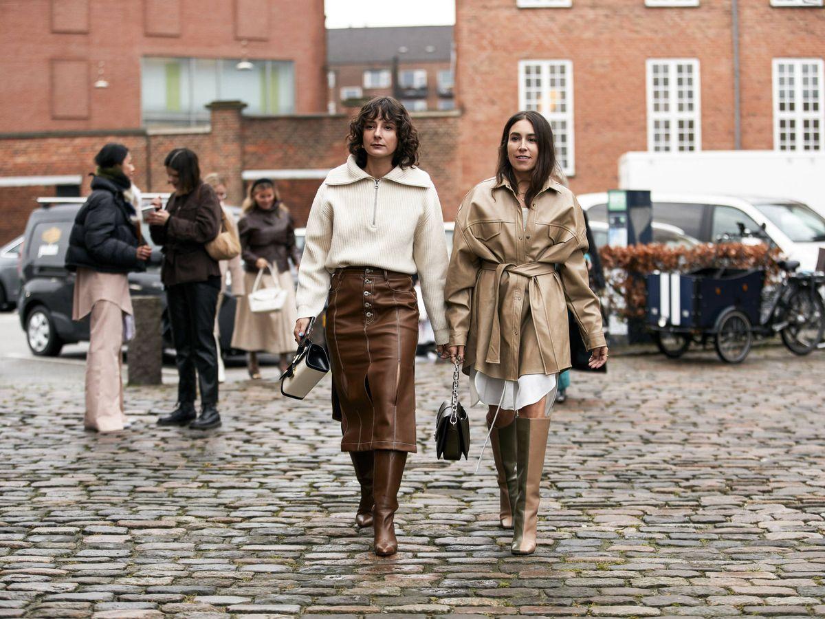 Foto: Dos insiders paseando por las calles de Copenhague. (Imaxtree)