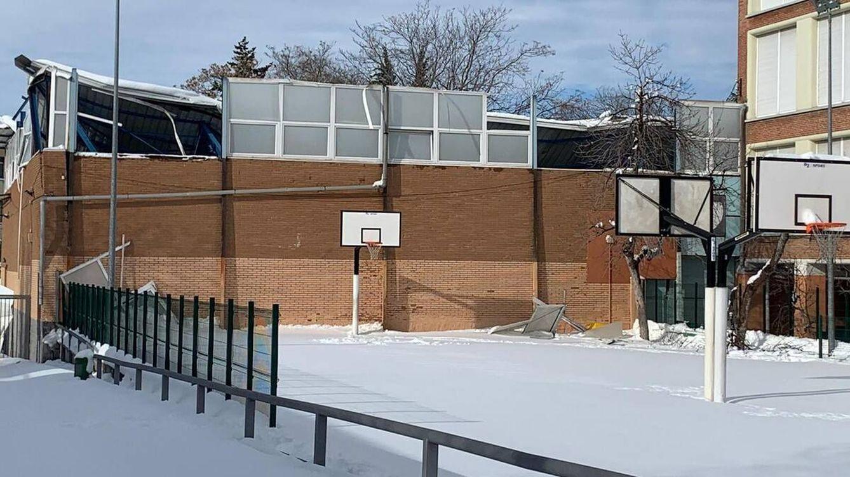 La nieve hundió La Nevera, el desbaratado gimnasio de mis sueños