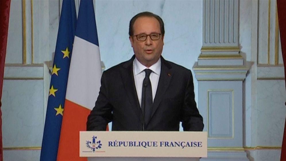 Foto: Hollande ha asegurado que Francia reforzará los ataques a las bases de el estado Islámico en Siria e Irak. (Reuters)