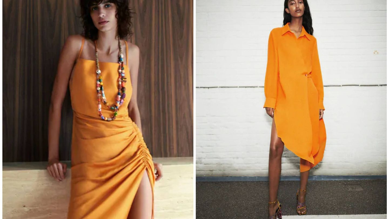 Vestidos de Zara. (Cortesía)
