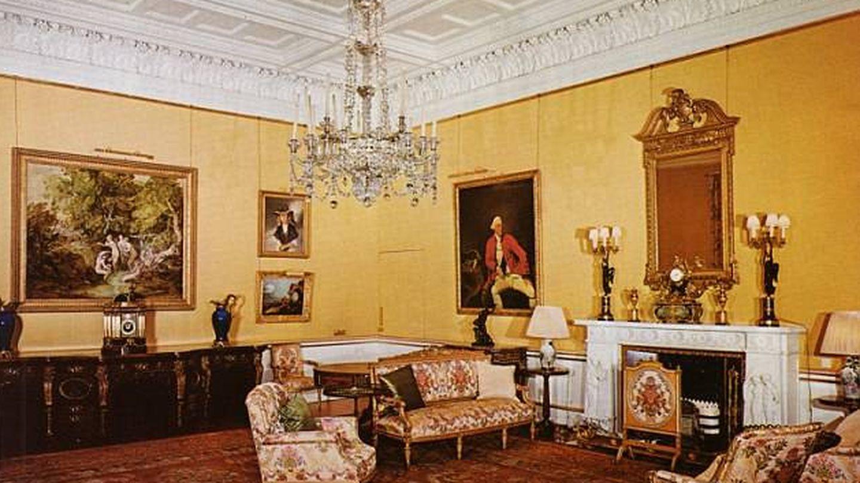 La Suite Belga del palacio de Buckingham.
