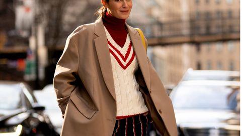 Pantalón 'pinstripe', la tendencia todopoderosa que vas a amar este otoño