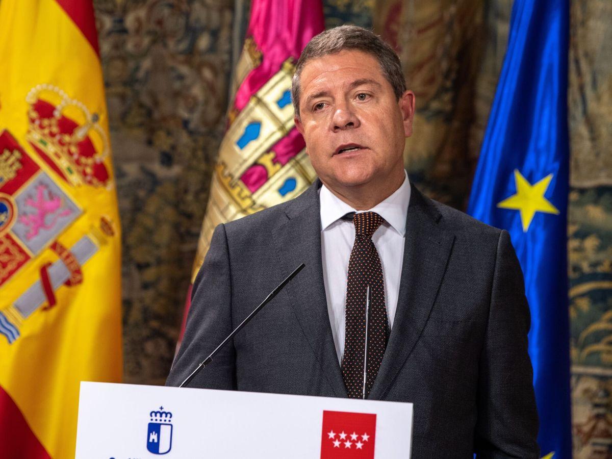 Foto: El presidente de Castilla-La Mancha, Emiliano García-Page. Foto: Efe