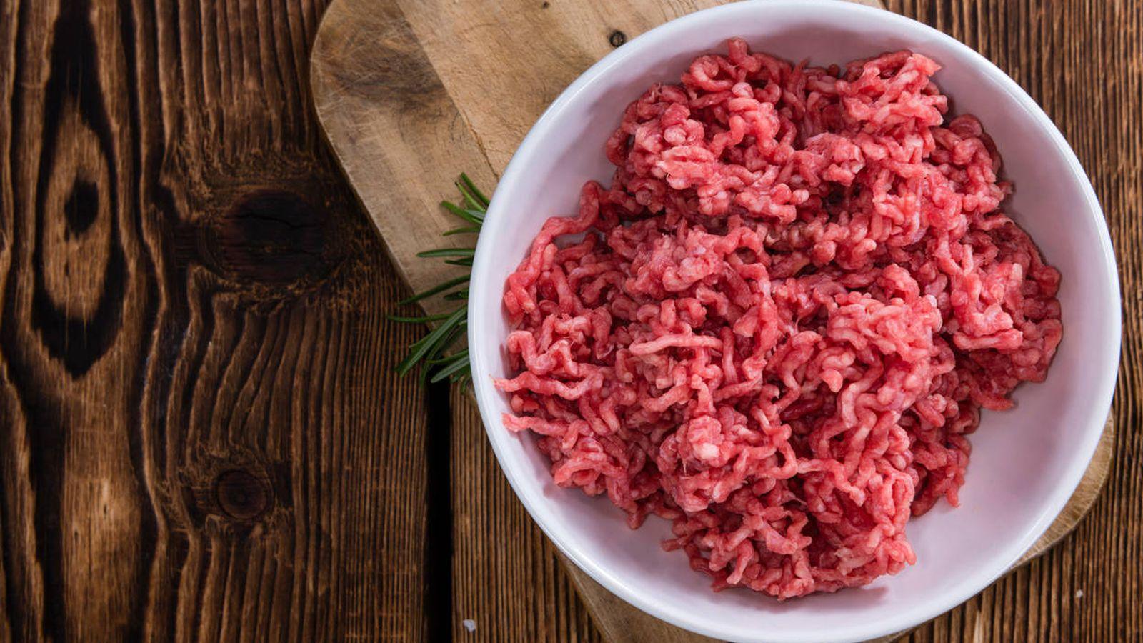 Foto: Carne picada. (iStock)