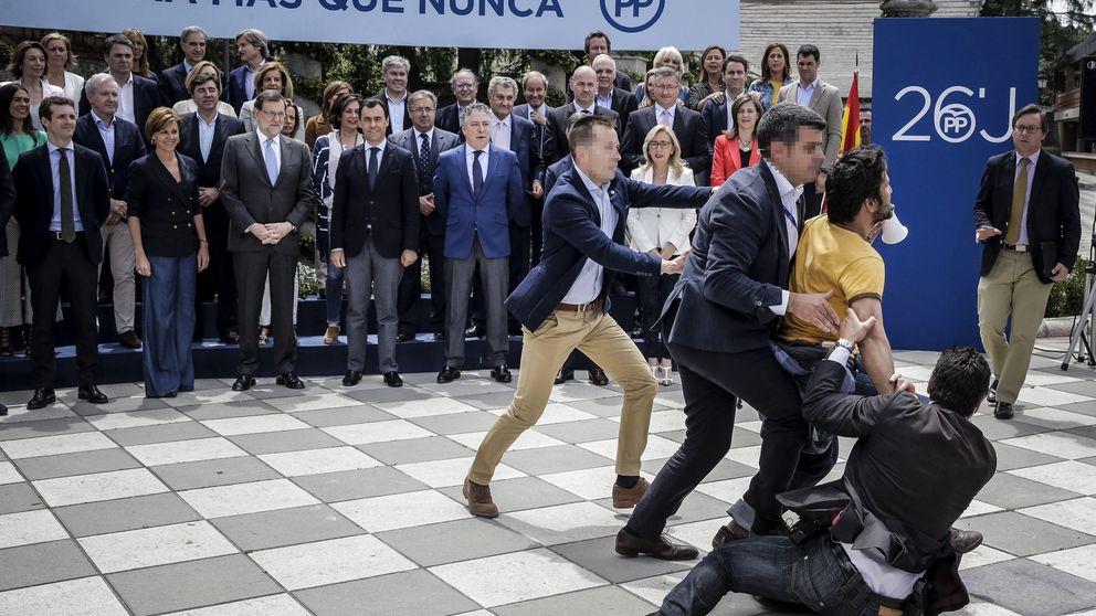 El PP mantiene su campaña 'de calle' pese a los incidentes en Madrid, Valencia y Mataró