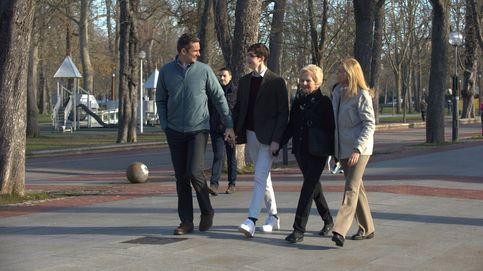 Iñaki y Cristina, la imagen más esperada: con sus hijos y la suegra de la Infanta en Vitoria