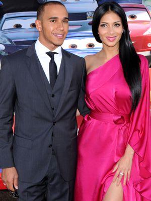 Hamilton y Nicole Sherzinger rompen su relación