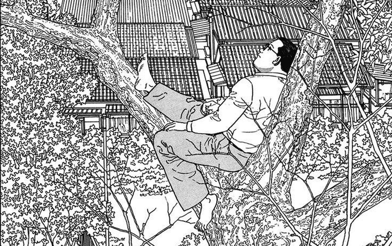 Foto: Interior del cómic 'El caminante', de Jiro Taniguchi, publicado por Ponent Mon.