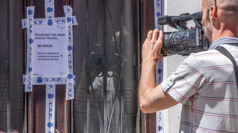 Foto: Vivienda sita en el Arenal de Palma, donde ha sido hallado el cuerpo sin vida y con signos de violencia. (EFE)