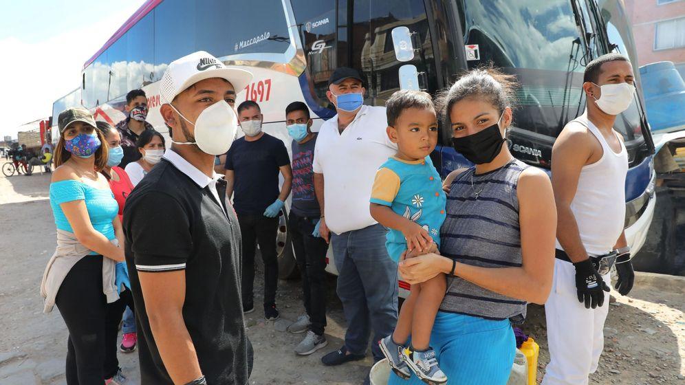Foto: Venezolanos en Colombia. (Reuters)