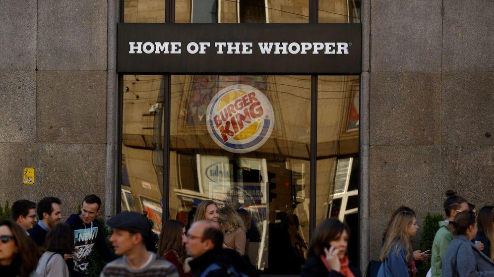Foto: Fachada de un restaurante de Burger King. (Reuters)