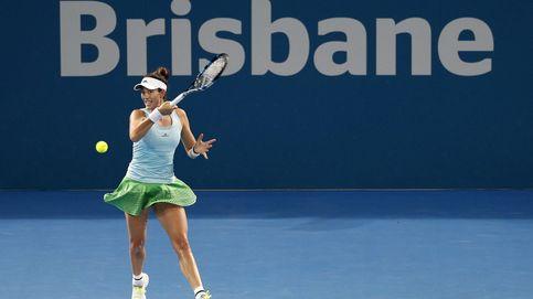 Muguruza supera una situación límite para meterse en cuartos de Brisbane