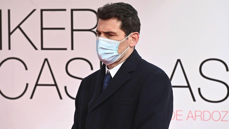 Iker Casillas, en una reciente presentación celebrada en Torrejón de Ardoz. (EFE)