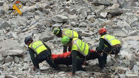 Rescate de un escalador en Benasque