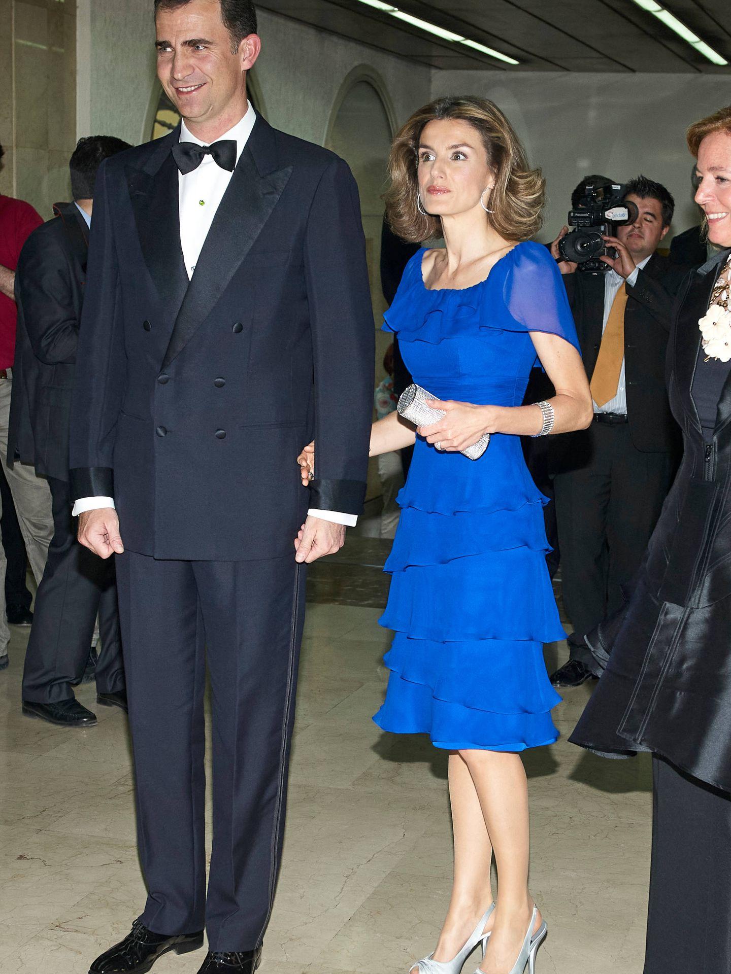 Los entonces Príncipes de Asturias, en 2008. (Limited Pictures)