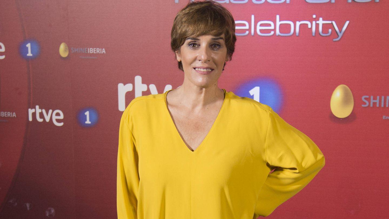 Anabel Alonso en la presentación de 'MasterChef Celebrity 2'. (Gtres)