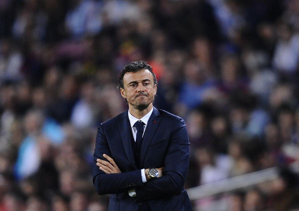 Foto: Luis Enrique tiene tiempo por delante para intentar mejorar el rumbo del Barcelona.