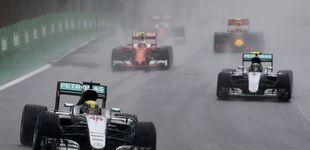 Post de Cuando sólo vale rezar a la Virgen: por qué es tan difícil pilotar un F1 con lluvia