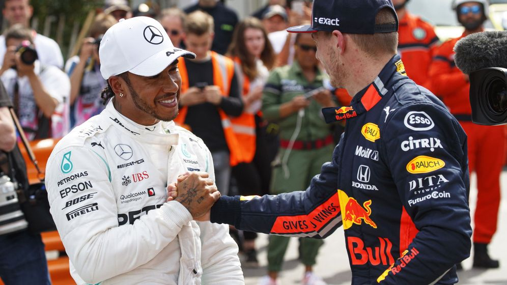 Foto: Verstappen podría ser el nuevo compañero de Hamilton en Mercedes. (EFE)
