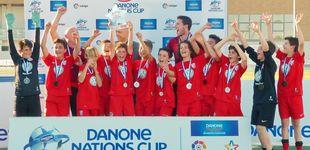Post de La UD Santa Marta gana la Fase Centro de la Danone Nations Cup