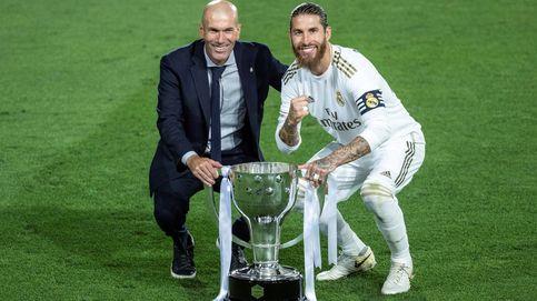 Las felicitaciones de las mujeres de los futbolistas del Real Madrid tras ganar la Liga