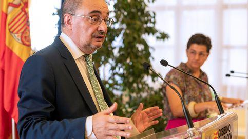 El presidente de Aragón, Javier Lambán, ingresado en Zaragoza por una infección
