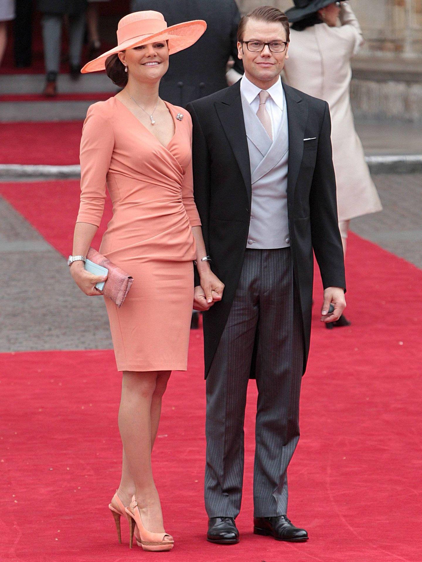 Daniel y Victoria de Suecia. (CP)