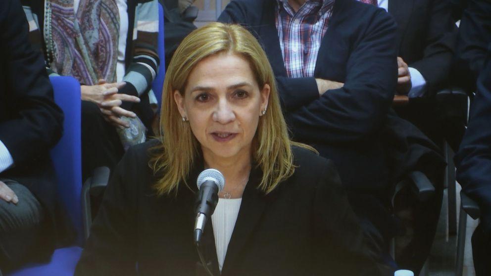 Cristina de Borbón: esto es lo que dicen el vestuario y los gestos de la infanta 'muda'