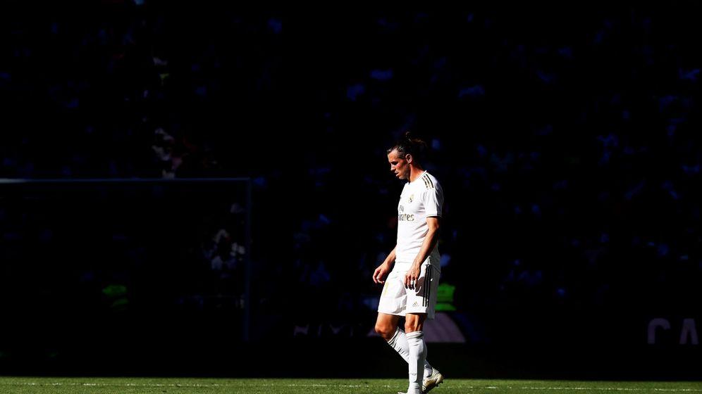 Foto: Gareth Bale en el Santiago Bernabéu. (EFE)