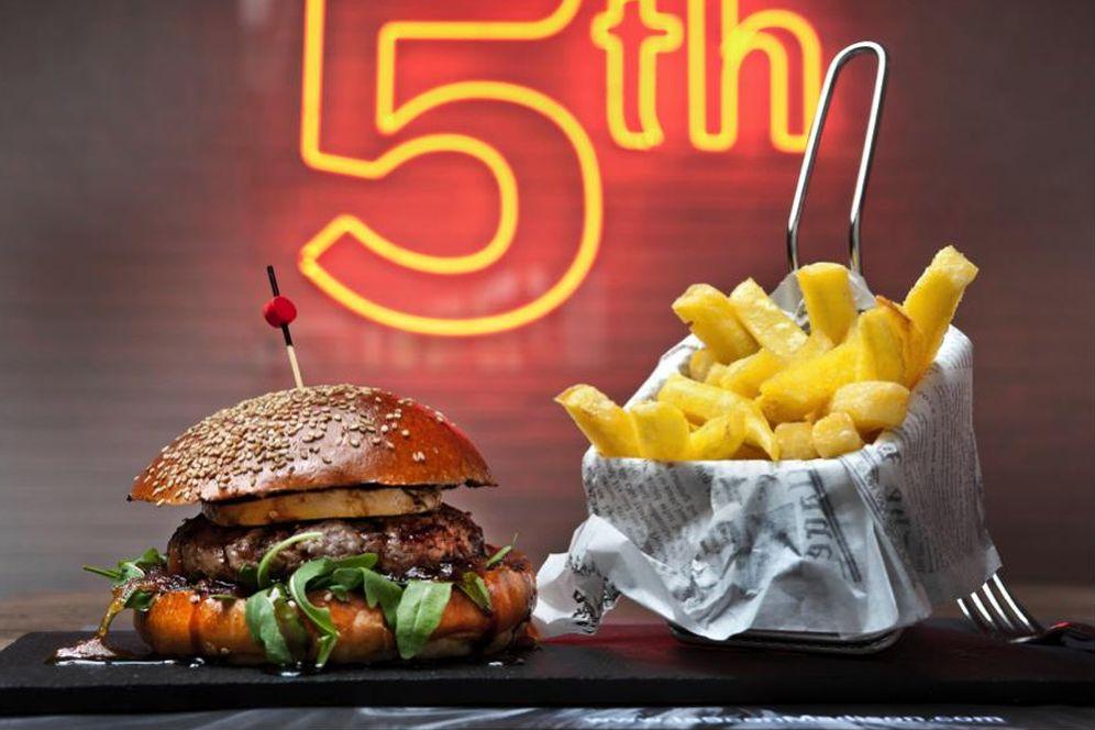 Foto: La Madison Burger, la estrella de La 5ª con Madison. (Cortesía)