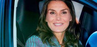 Post de Alternativas low cost (del imperio Inditex) de la americana tartán de la reina Letizia