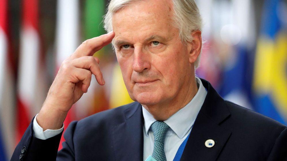 Foto: Michel Barnier, negociador jefe de la Comisión Europea. (EFE)